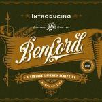 Benford Vintage Font
