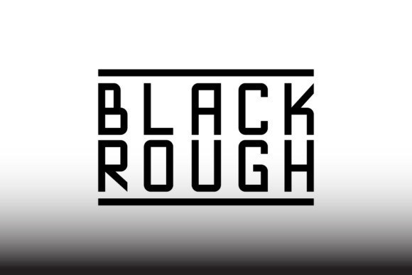 Blackrough Sans Font