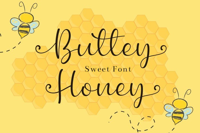 buttey-honey-font