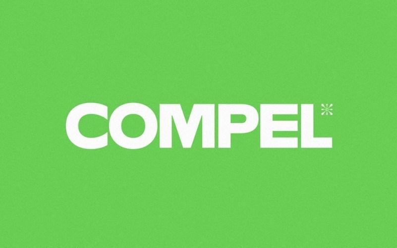 compel-geometric-font