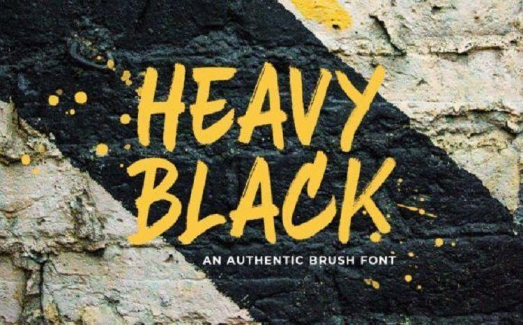 heavy-black-font