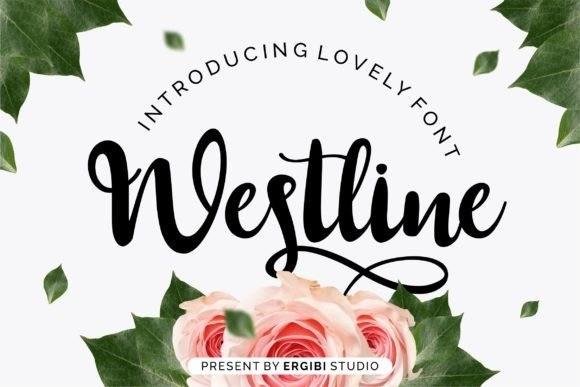Westline Calligraphy Font