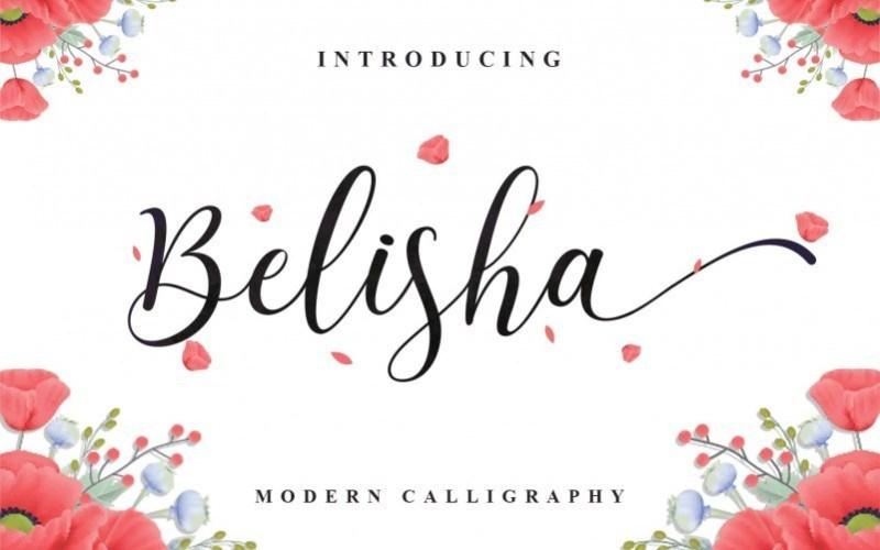 Belisha-Calligraphy-Font-1