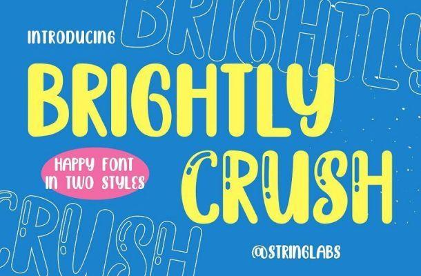 Brightly-Crush-Playful-Typeface