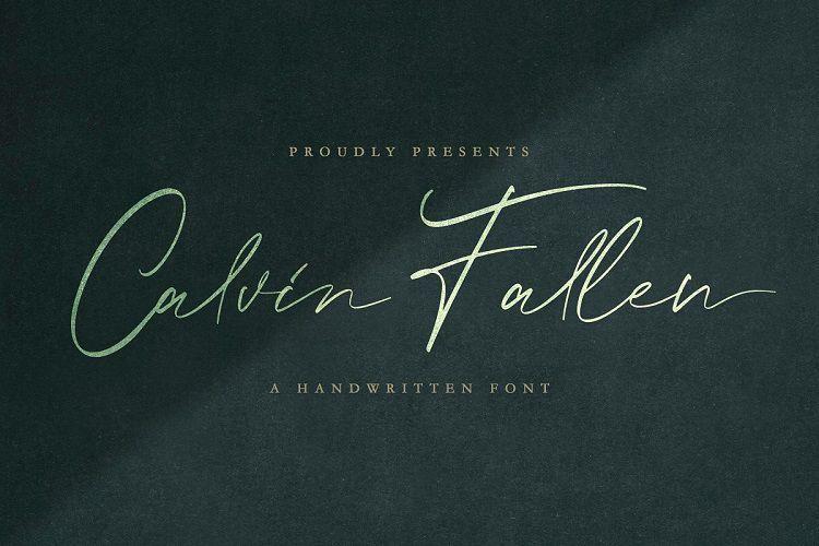 Calvin-Fallen-Handwritten-Font