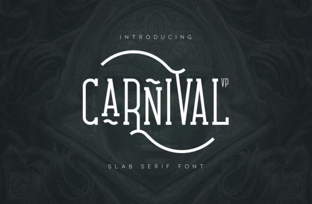Carnival VP Slab Serif Font