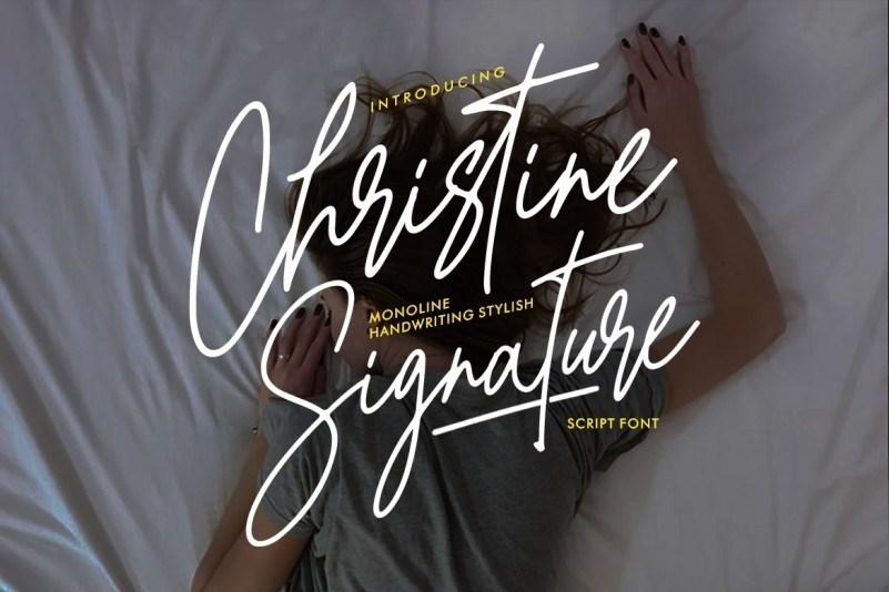 Christine-Signature-Font-1