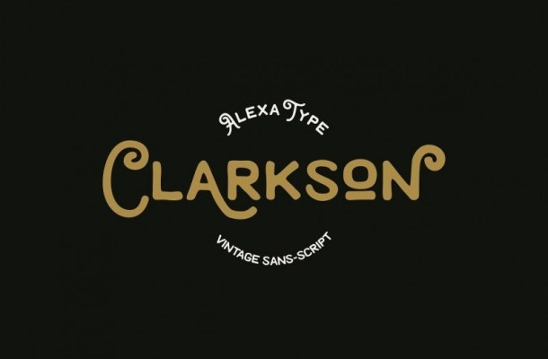 Clarkson Display Font
