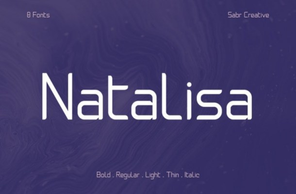 Natalisa Sans Serif Font Family