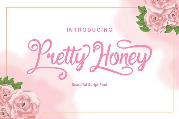 Pretty Honey Calligraphy Font