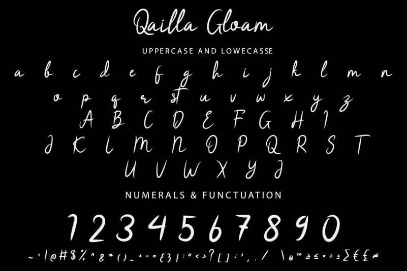 Qailla-Gloam-Brush-Font-3