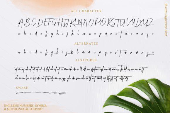 Risotto-Script-Font-3