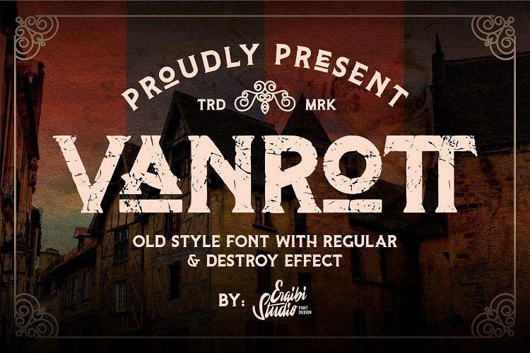 Vanrott-Destroy-Serif-Font-1
