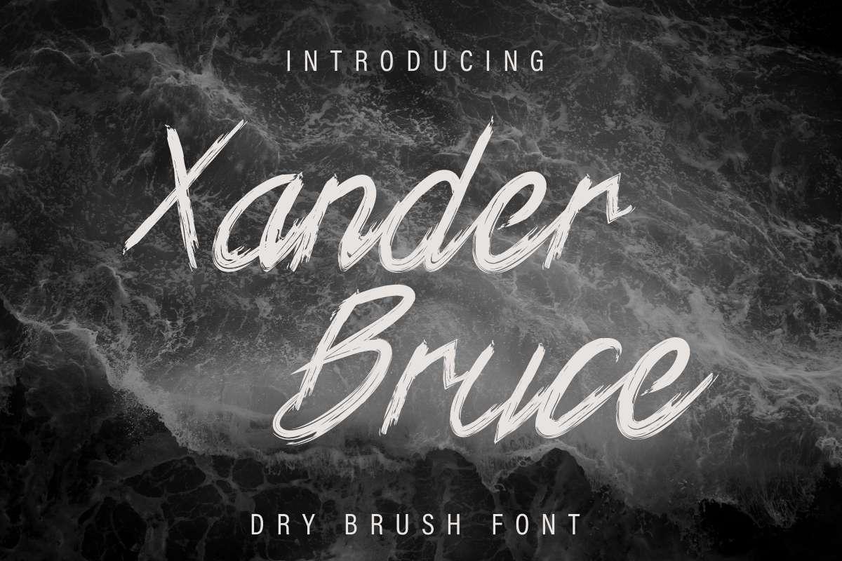 Xander-Bruce-Brush-Font-1