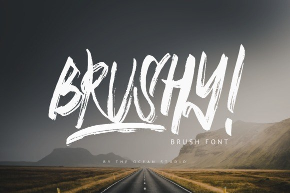 Brushy Brush Font