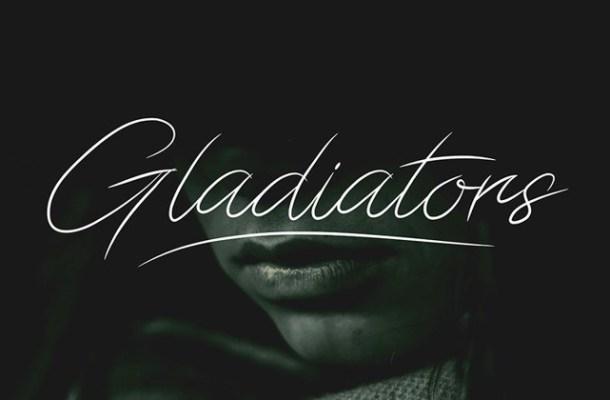 Gladiators Script Font