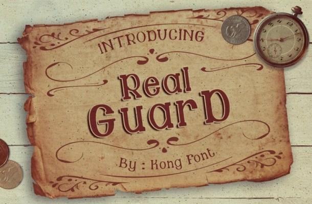 Guard Serif Font