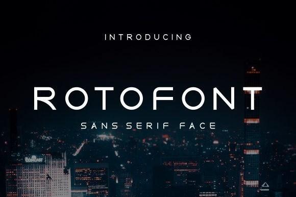 Roto Sans Serif Font