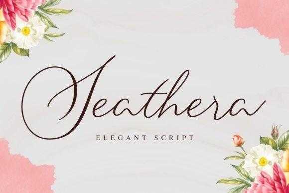 Seathera Signature Script Font