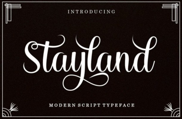 Stayland Calligraphy Font