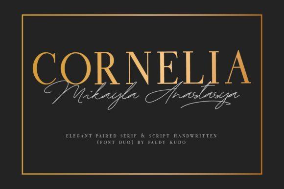 Cornelia Serif Font