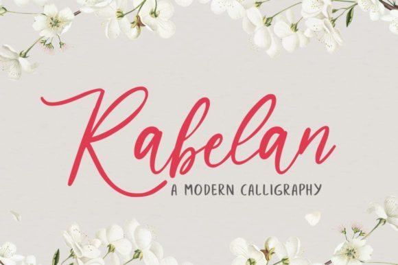 Grage Modern Calligraphy Font