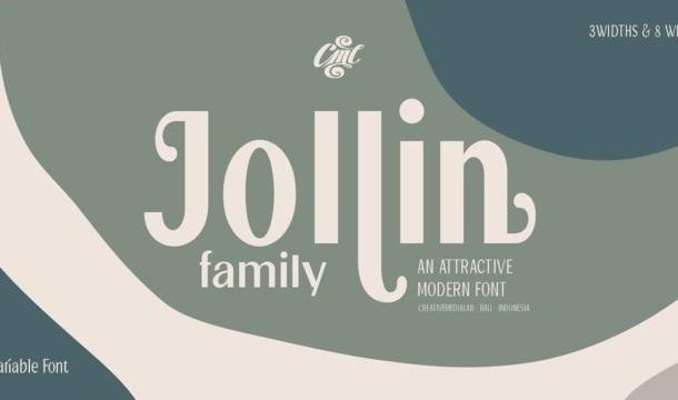 Jollin Sans Serif Font Family