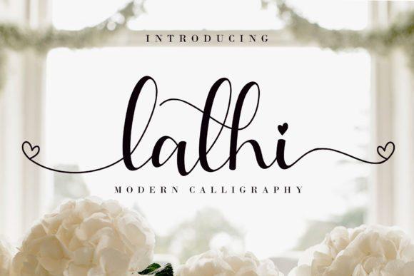 Lathi Modern Calligraphy Font