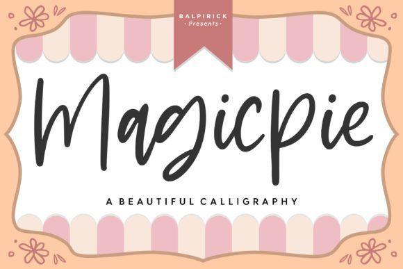Magicpie Script Font