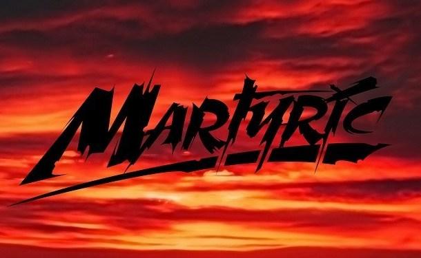 Martyric Brush Horror Font