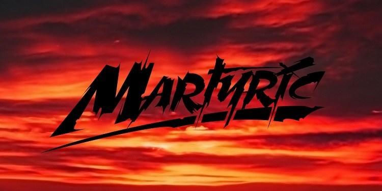 Martyric-Brush-Horror-Font