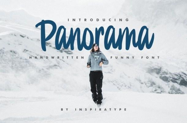 Panorama Bold Handwritten Font