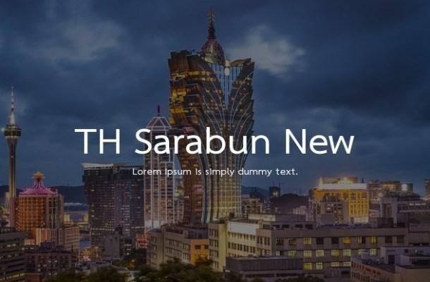 Th Sarabun New Font Family
