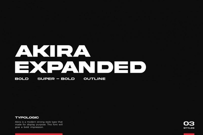 akira-expanded-sans-serif-font
