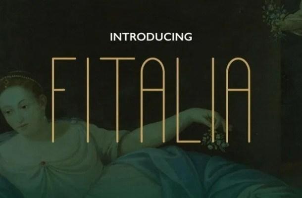 Fitalia Sans Serif Font