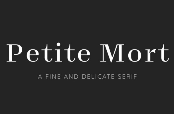 Petite Mort Serif Font