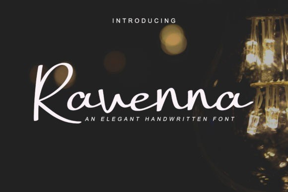 Ravenna Handwritten Signature Font