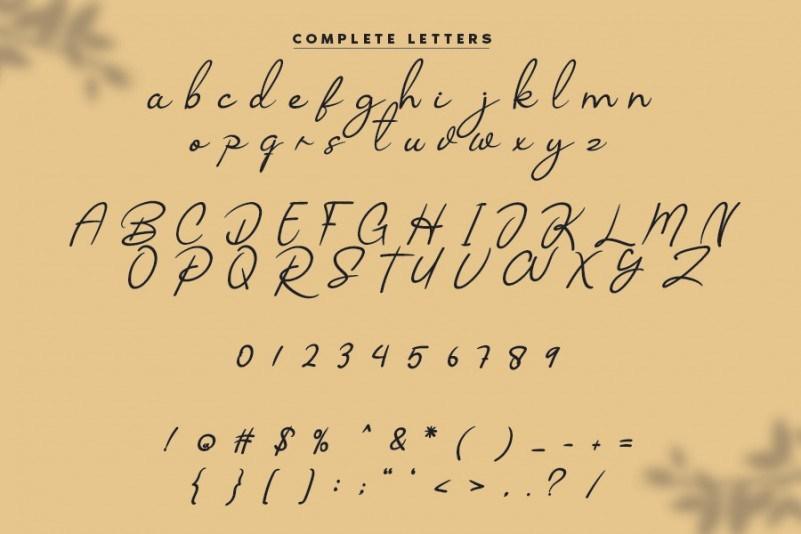 Belkago-Handwritten-Font-3