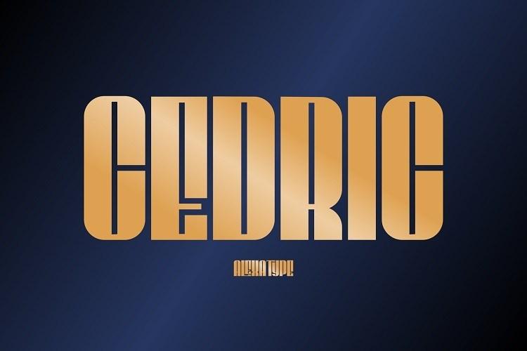 CEDRIC-Display-Font-1