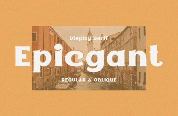 Epicgant Serif Font