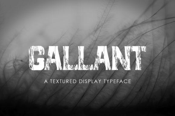Gallant Display Font