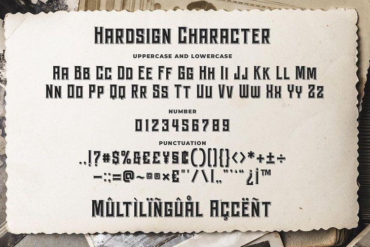 Hardsign-Font-3