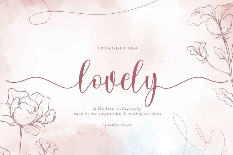 Lovely-Calligraphy-Font-1