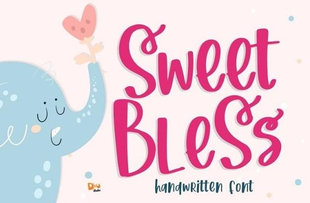 Sweet Bless Handwritten Font