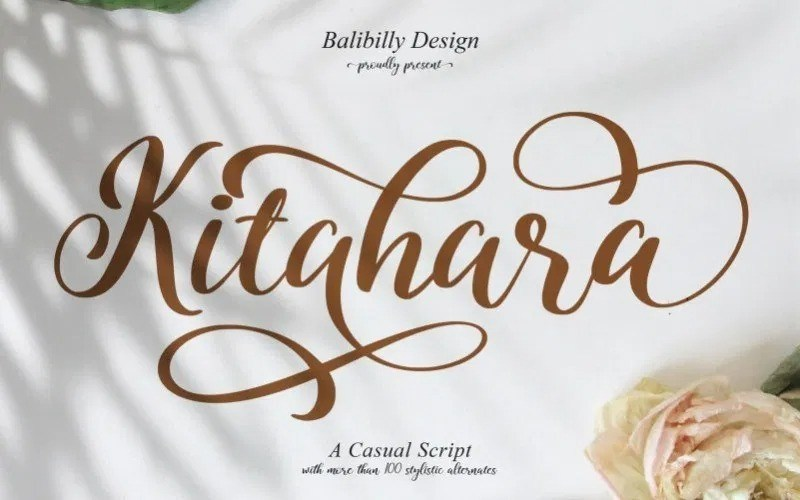 kitahara-script-font-1