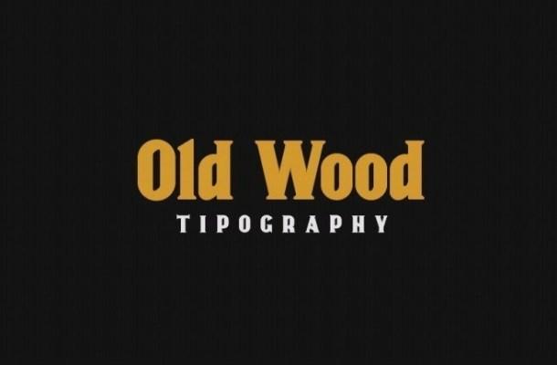 Old Wood Serif Font