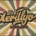 Aerillyo Retro Bold Script Font
