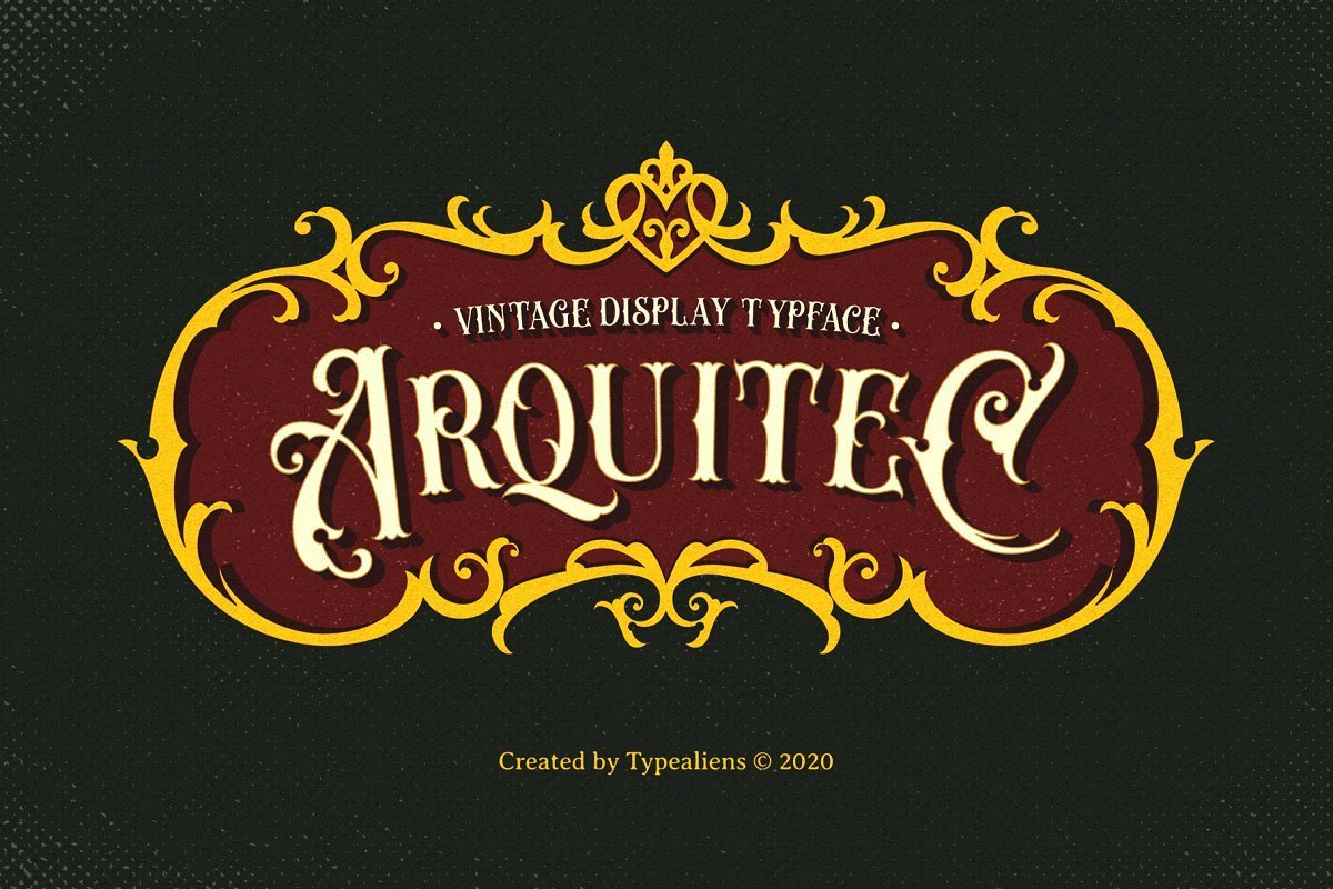 Arquitec-Vintage-Display-Font-1