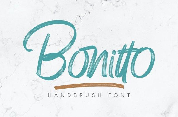 Bonitto Brush Script Font