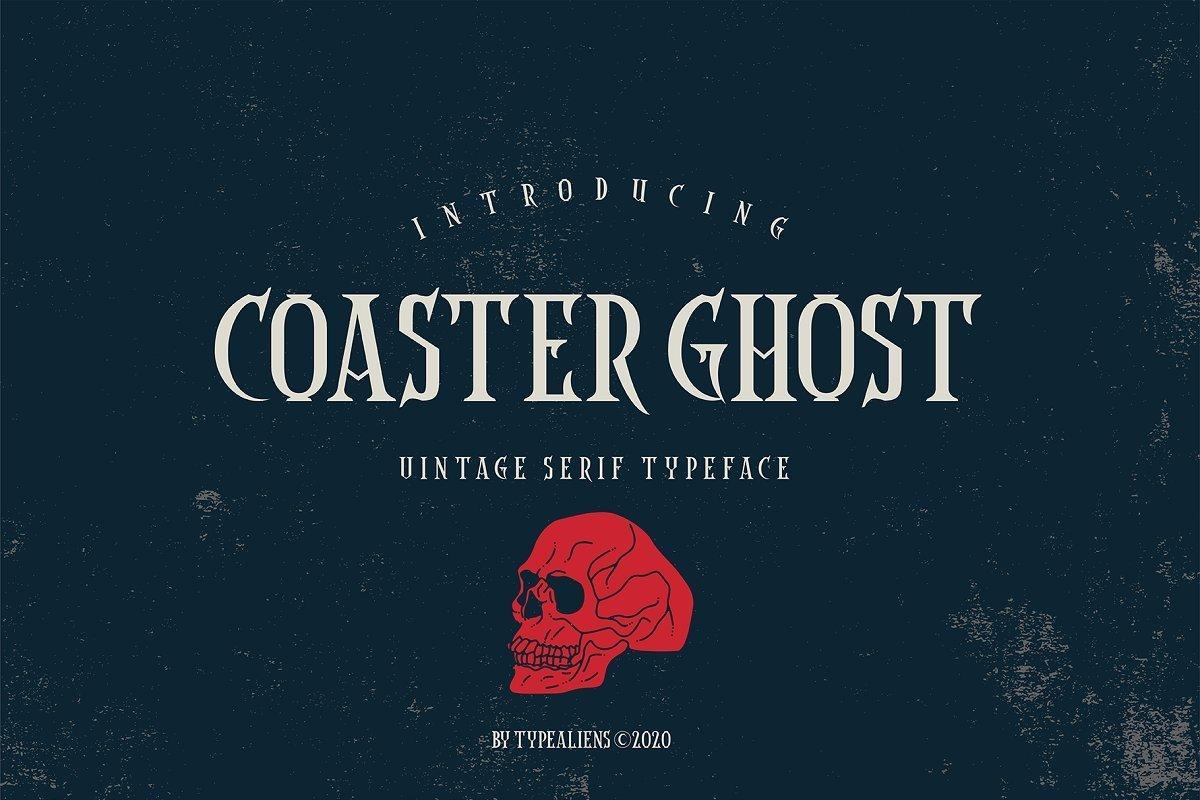 Coaster-Ghost-Vintage-Serif-Font-1